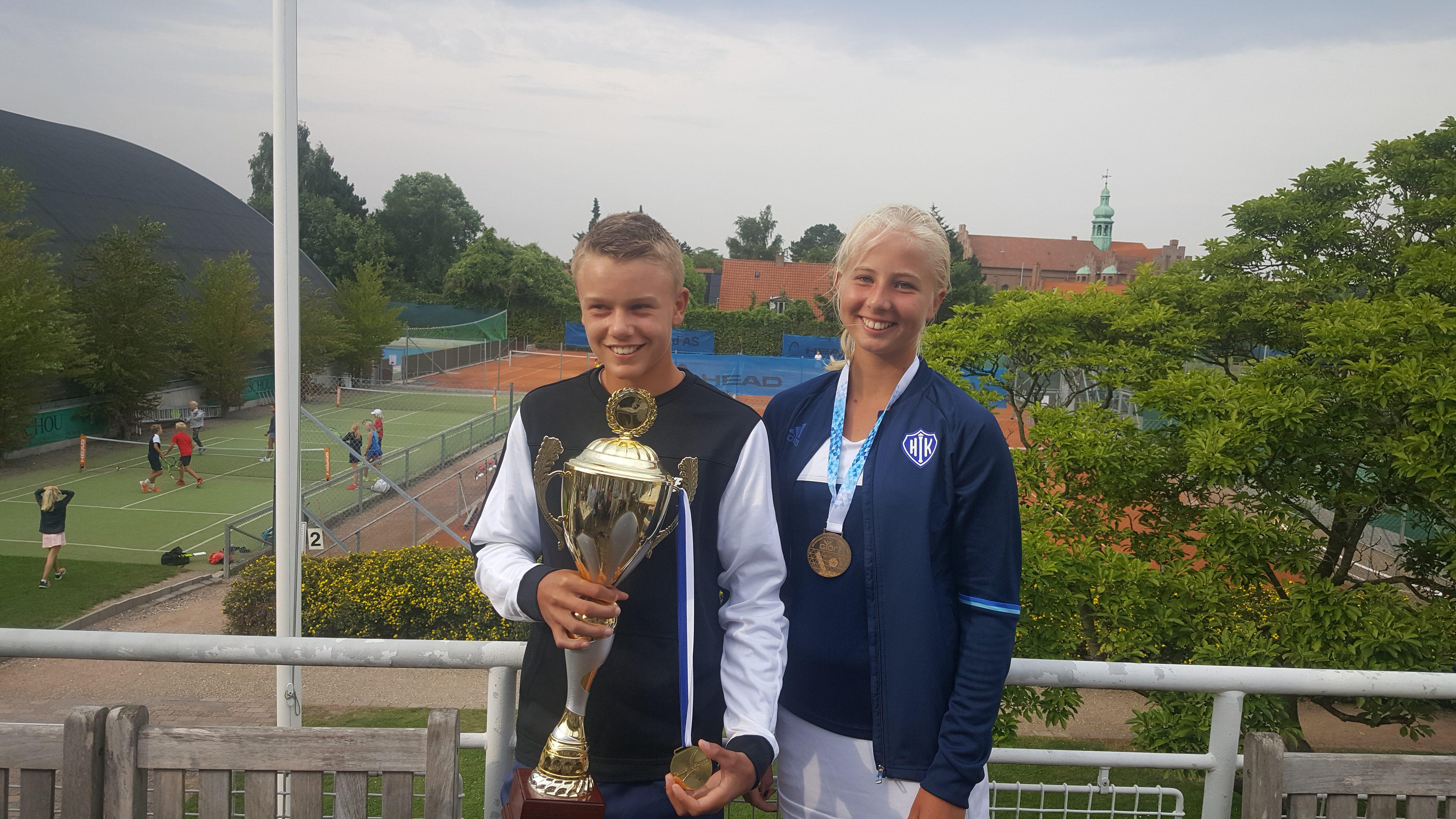Holger Vitus Nødskov Rune, Clara Tauson