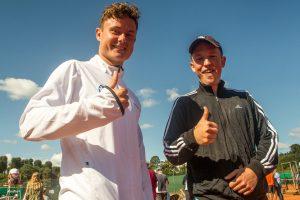 Mikkel Lynge og Christian Jargin