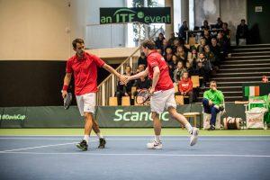 Frederik Løchte Nielsen og Thomas Kromann, Davis Cup