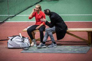 Olga Helmi og Thierry Guardiola