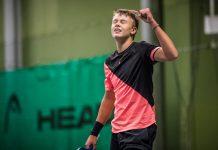 Holger Vitus Nødskov Rune vinder DM for juniorer u18 indendørs som 14 årig