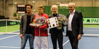 Holger Rune og Clara Tauson delte 'C WorldWide Talentprisen' på 100.000,-