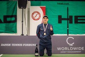 Philip Hjorth dansk mester indendørs 2018