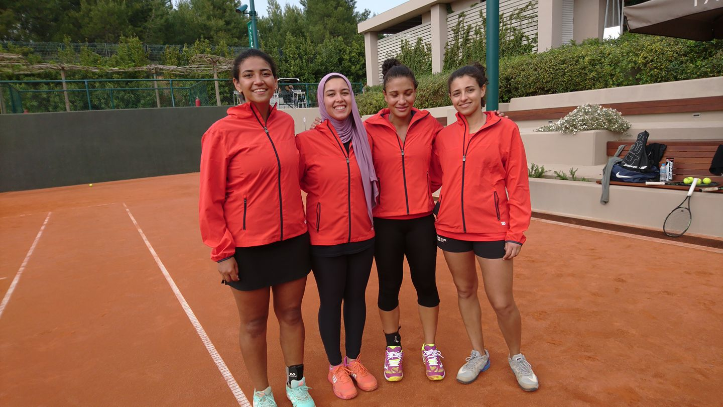 Egyptens Fed Cup hold 2018