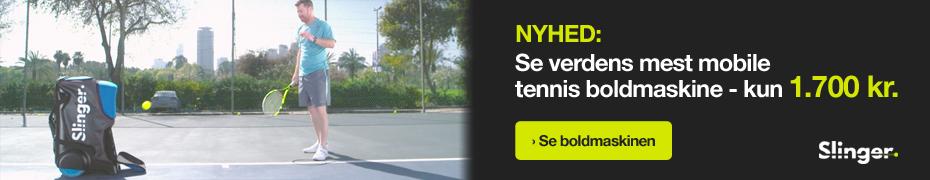 Verdens mest mobile tennis boldmaskine