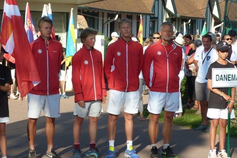 Danmark EM U16 hold 2018