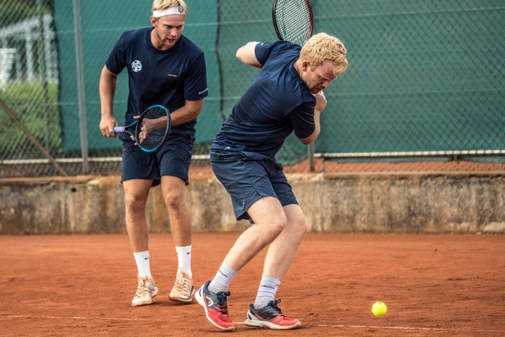 Marc Ferrigno og Martin Pedersen