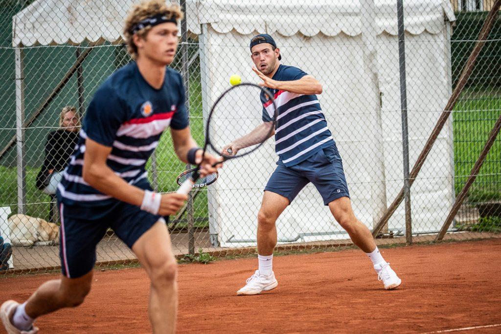 August Holmgren og Andreas Boers
