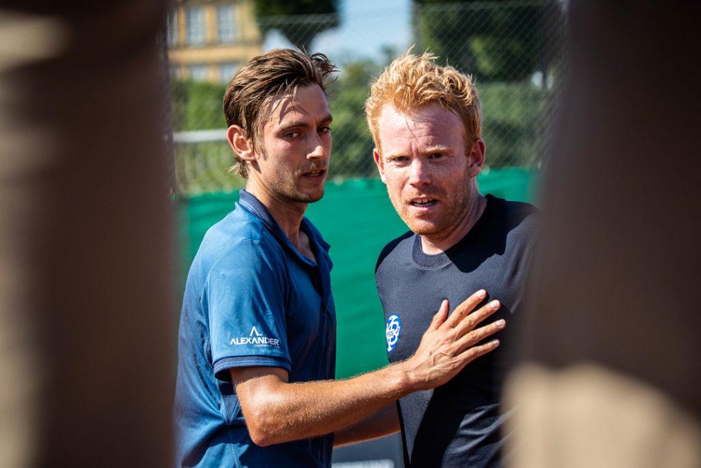 Christoffer Kønigsfeldt og Martin Pedersen
