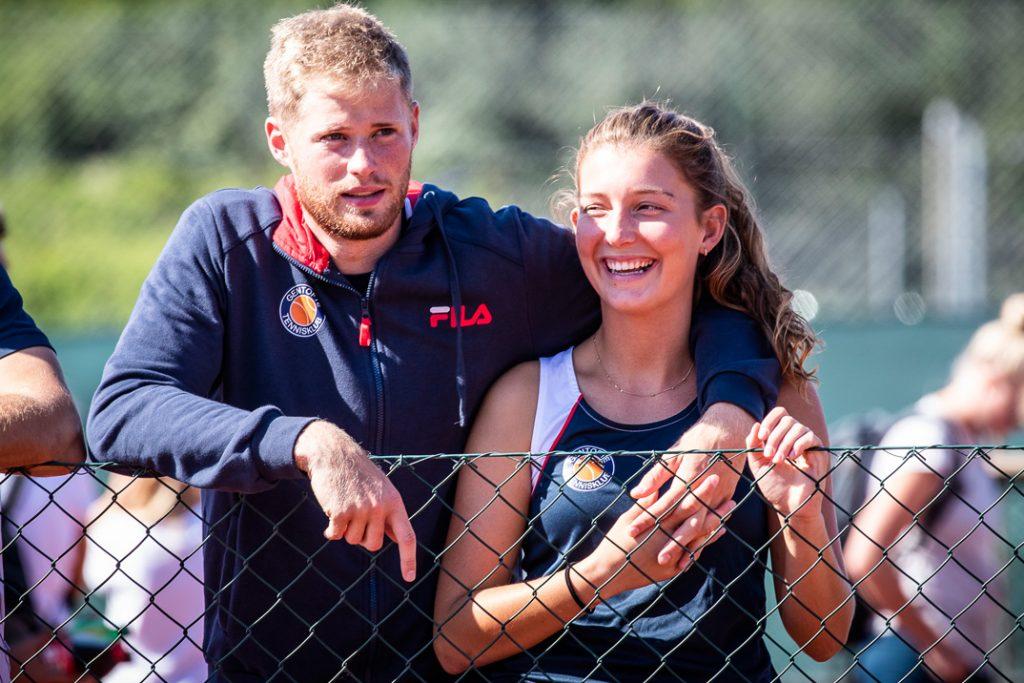 Christian Sigsgaard og Sofie Boers