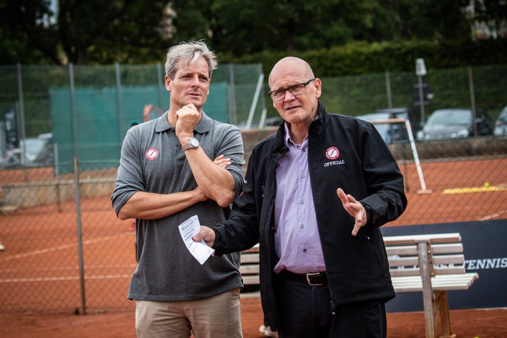 Klaus Nørby og Tom Gustavsen