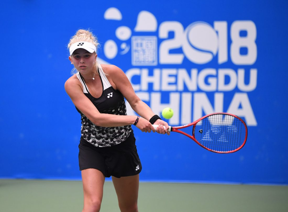 2018 ITF Junior MastersClara Tauson , Denmark