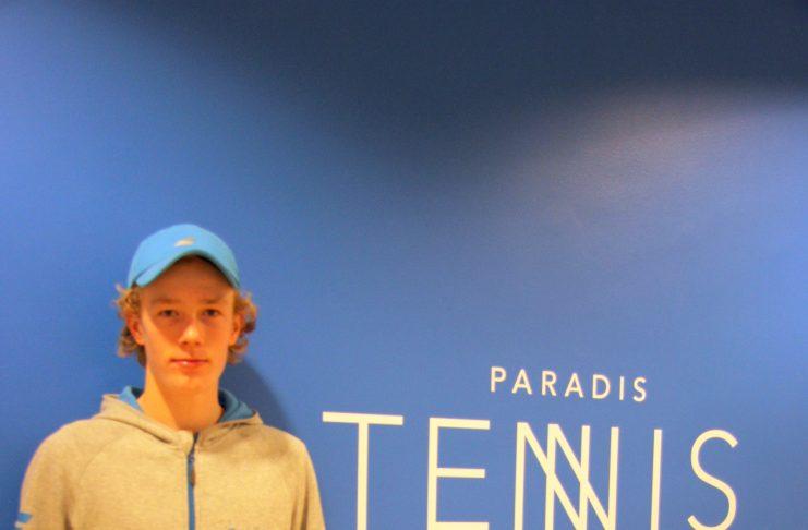 9f795f7dcccf TE+ITF Junior Bergen  Carl Emil rykker efter finale 1800 pladser på  ITF-rangliste