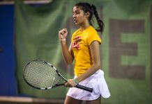 Tennisspilleren Alisha Hussain