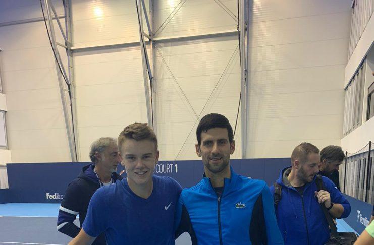 Holger Vitus Nødskov Rune, Novak Djokovic