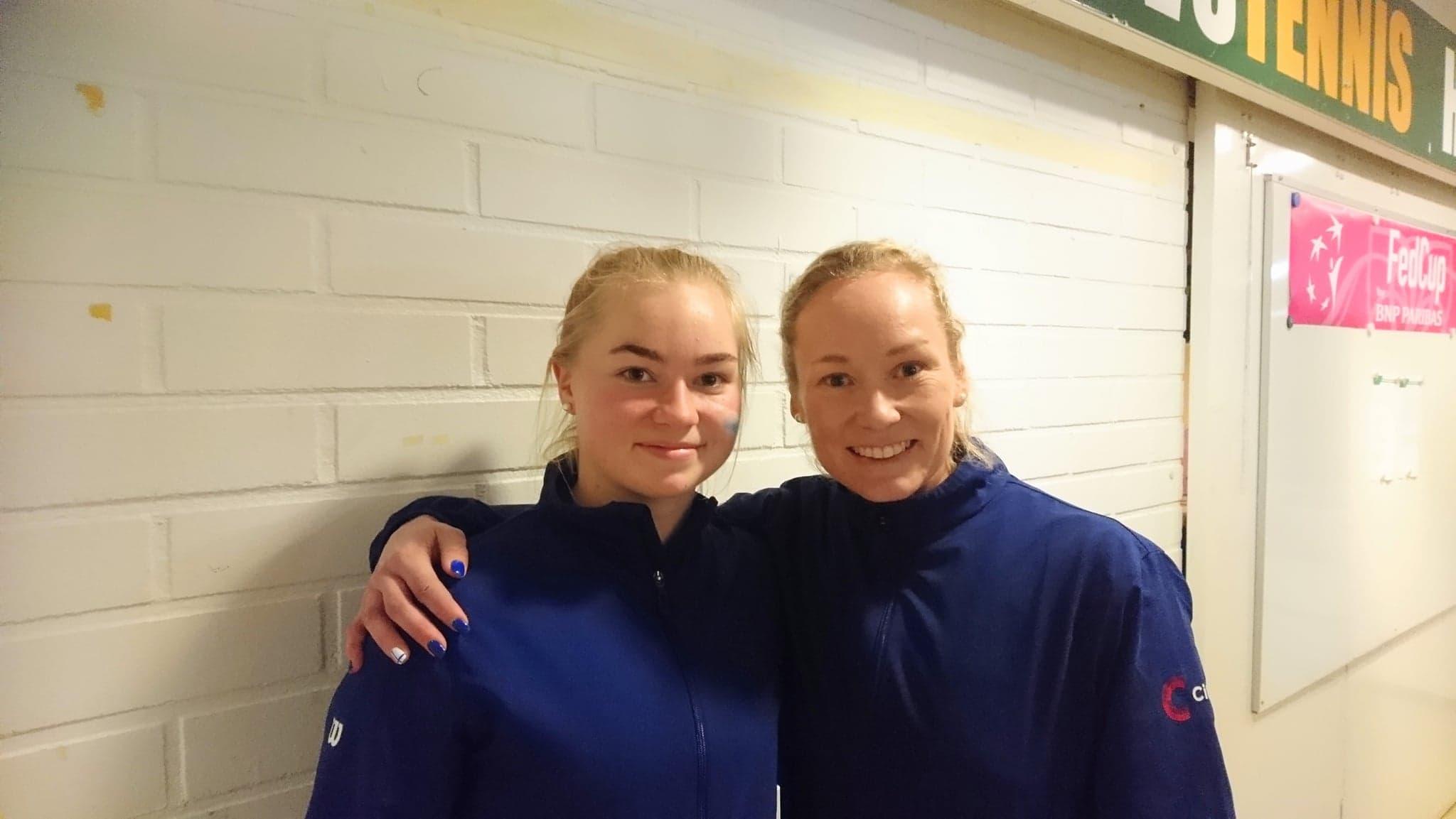 Laura Hietaranta og Emma Laine
