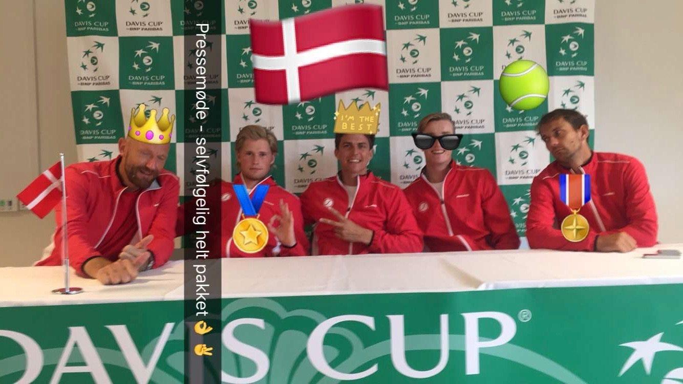 Jens Anker Buus Andersen, Christian Sigsgaard, Thomas Kromann, Mikael Torpegaard, Frederik Løchte Nielsen