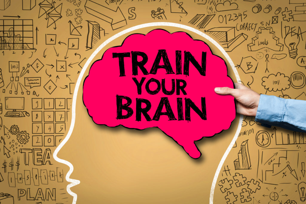 TRAIN YOUR BRAIN / Brain concept (Click for more)