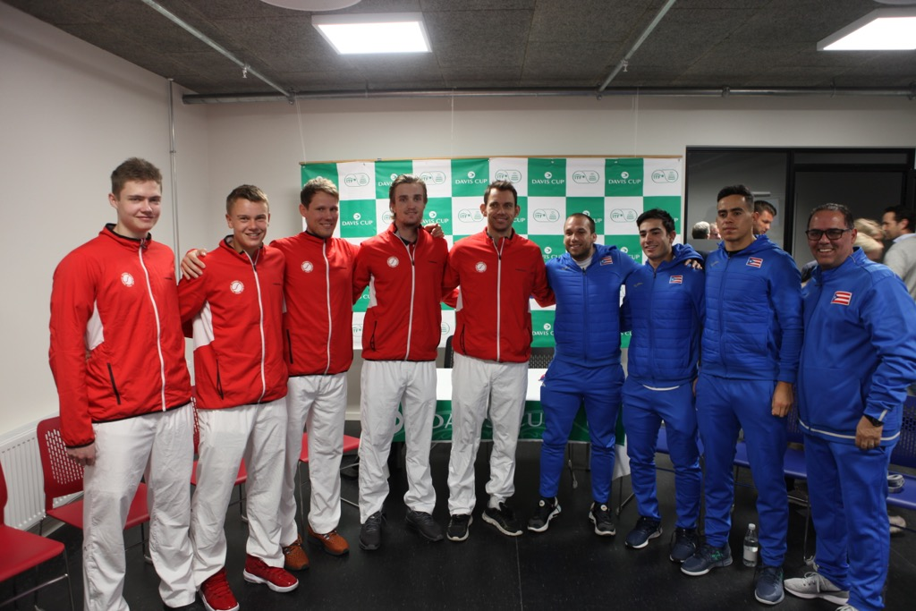 Holdbillede Davis Cup