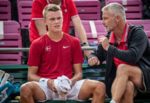 Holger Rune og Lars Christensen