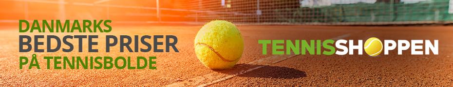 Danmarks bedste priser på tennisbolde - Tennisshoppen.dk