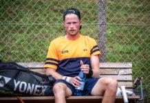 Danmarksmester i tennis udendørs 2020 Christian Sigsgaard