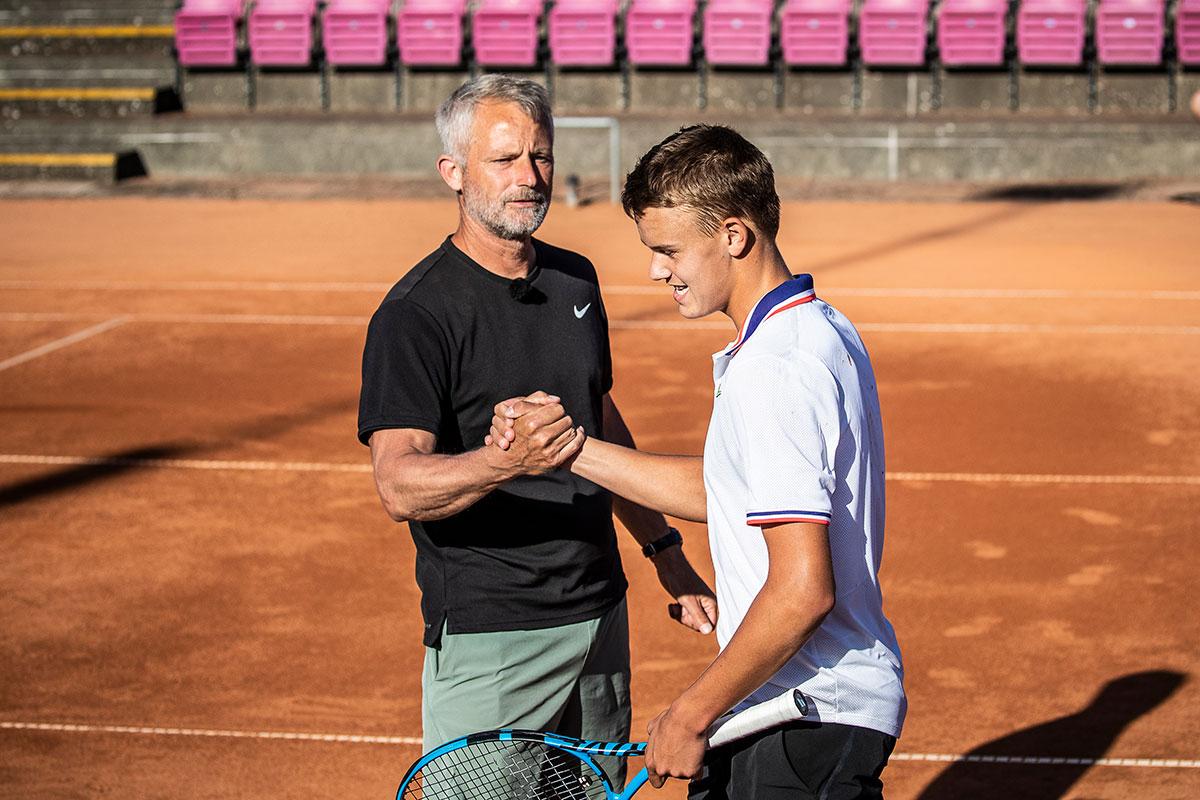 Lars Christensen og Holger Rune