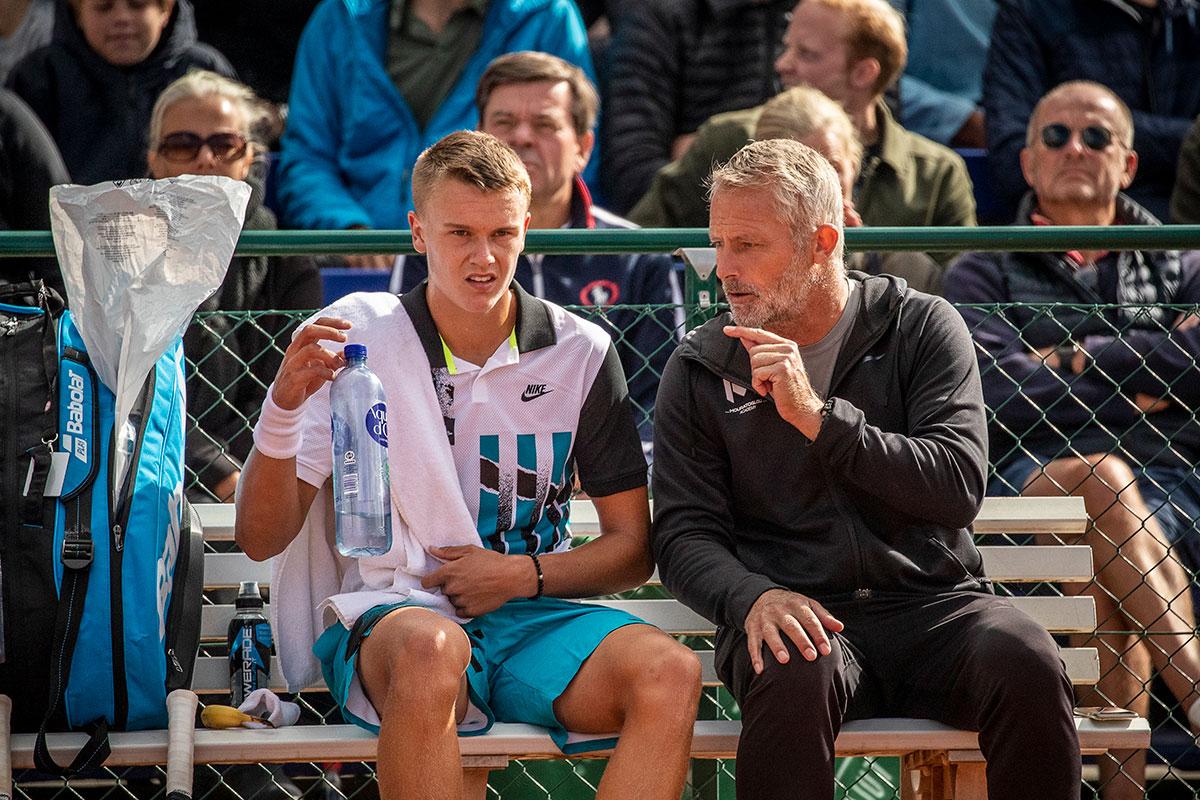 Holger Vitus Nødskov Rune og Lars Christensen