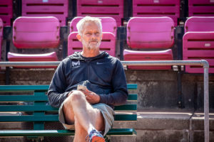Lars Christensen. Træner for Holger Rune