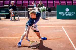 Johannes Ingildsen ved UTR Leschly Challenge
