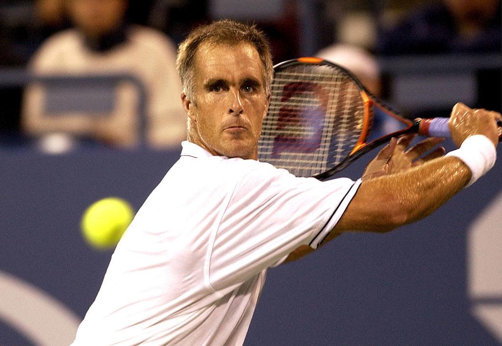2003 US Open - Mens Singles - Fourth Round - Juan Carlos Ferrero vs. Todd Martin - September 2, 2003