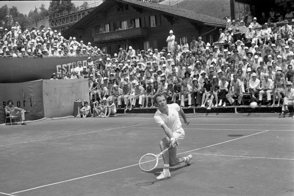 Swiss Open Gstaad 1971: Tom Okker