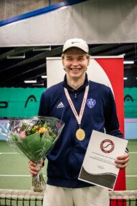 Danmarksmester indendørs 2021 Valdemar Frederik Pape