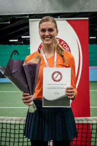 Danmarksmester indendørs 2021 Emilie Francati